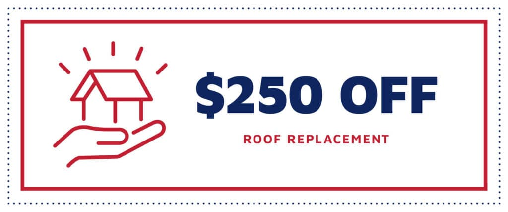 $250 off a New Roof Coupon