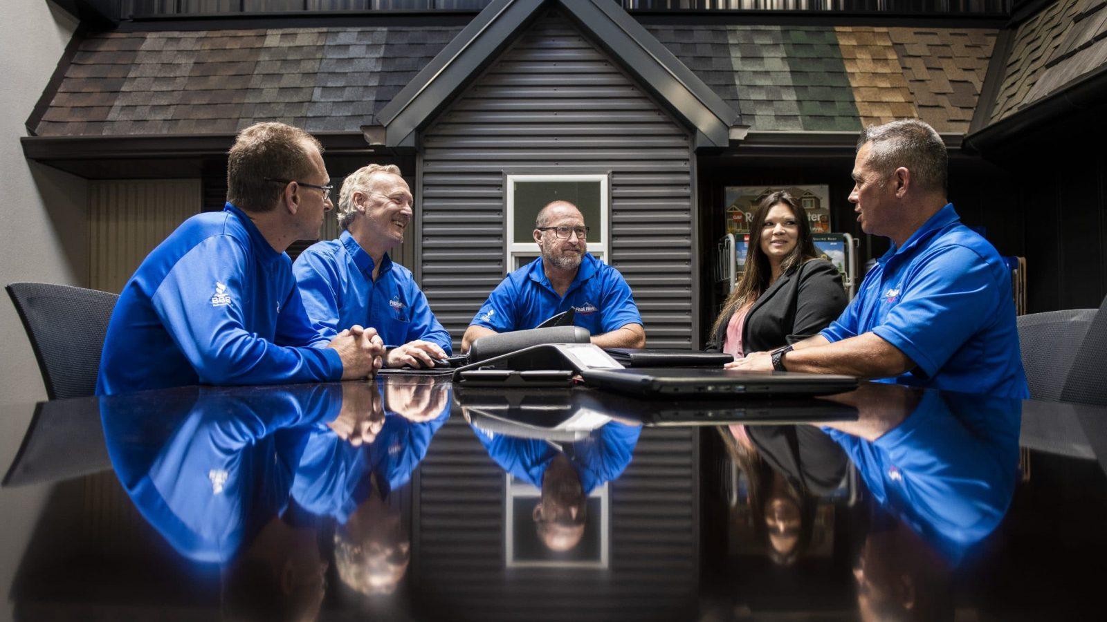 Peak View Roofing Leadership Team