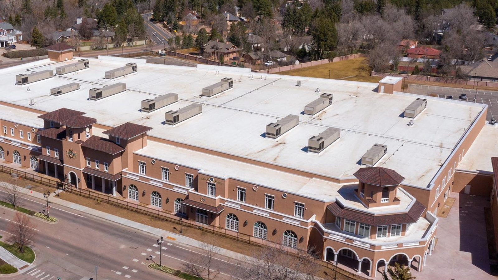 Commercial Roof in Colorado Springs